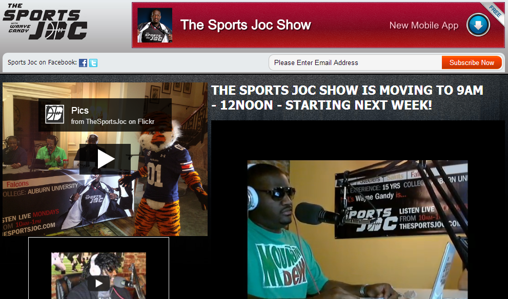 The Sports Joc with Wayne Gandy